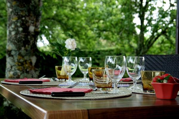 La Grange du Mas Les Eyzies Périgord Noir table d'hôtes