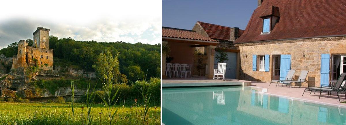 Grange du Mas Location gîtes piscine Périgord Noir, locations de vacances en Nouvelle Aquitaine Périgord et Dordogne - Les Eyzies de Tayac.Sarlat, Lascaux II.